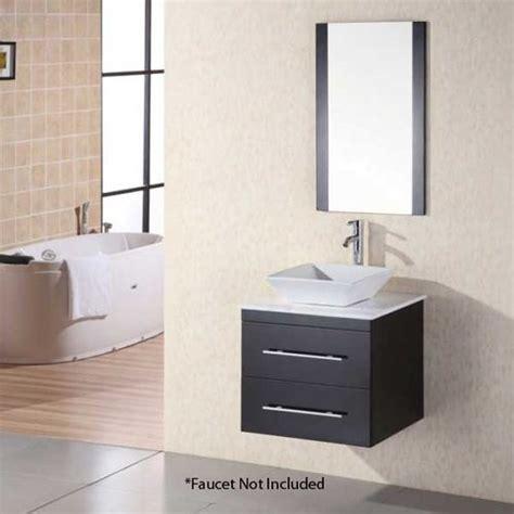 Bathroom Vanities Portland by Design Element 24 Quot Portland Single Vessel Sink Bathroom