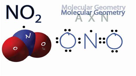 no2 diagram no2 molecular geometry shape and bond angles
