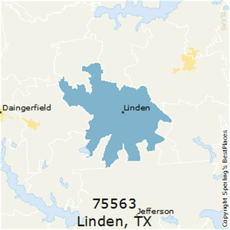 linden texas map best places to live in linden zip 75563 texas