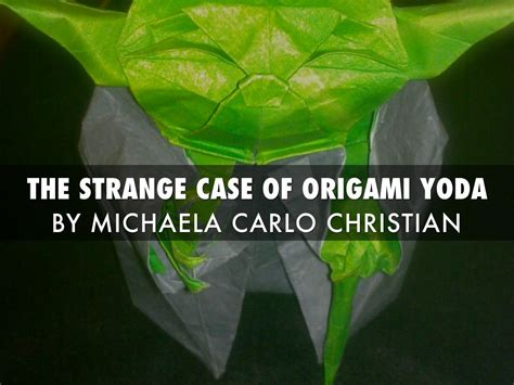 The Strange Of Origami Yoda Summary - the strange of origami yoda by harmony