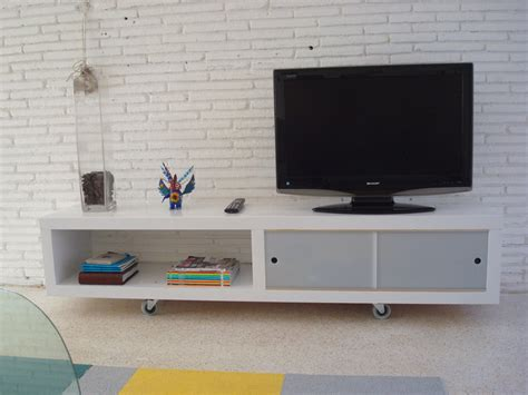ikea media console hack ikea media cabinet still stunning even tv s off homesfeed