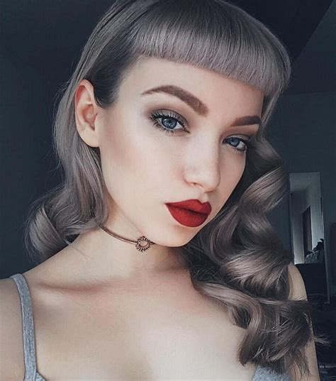 best 25 pin up bangs ideas on pin up hair