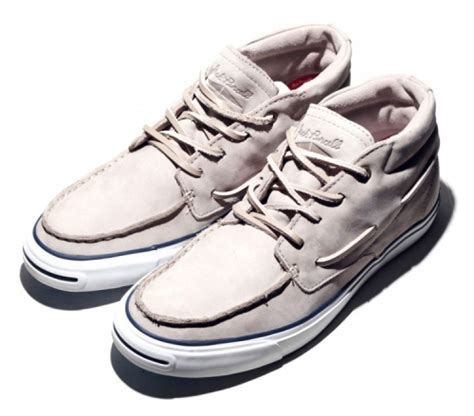 Sepatu Converse All Leather Kulit Sneakers Unisex Grey Black High 1 home converse purcell mid boat leather