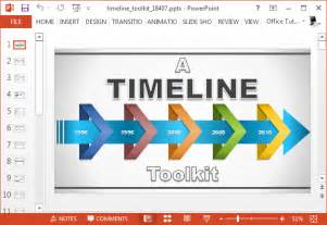 powerpoint template maker animated timeline maker template for powerpoint