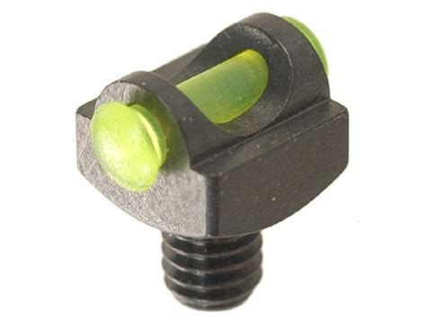 fiber optic bead sight marble s expert shotgun front bead sight 094 diameter 3