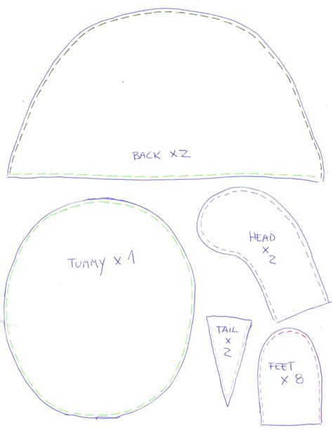 turtle template search results for turtle sewing pattern for free