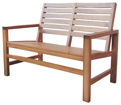 contemporary outdoor bench shine company outdoor patio contemporary garden bench oak