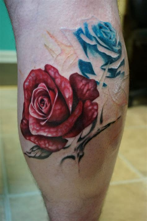 roses and thorns tattoo with thorns on arm www imgkid the