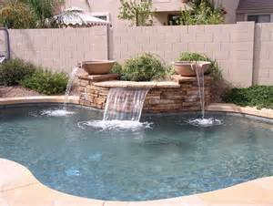 Basketball Hoop Backyard by Sheer Descent Pool Water Features True Blue Pools