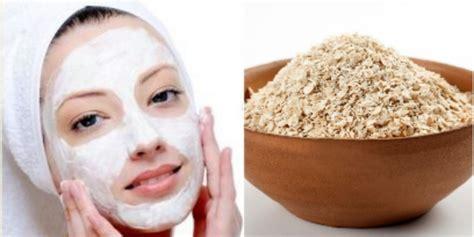 Masker Wajah Alami Agar Kulit Cerah 1 khasiat tersembunyi masker oatmeal untuk wajah co id