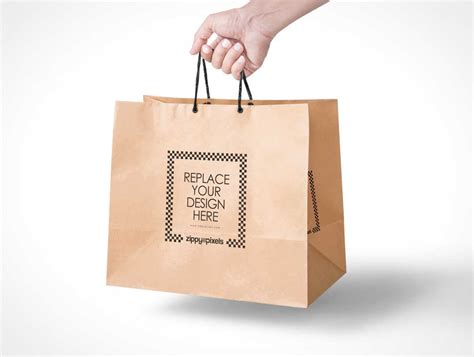 Paper Bag Kosong 20 bottle mockup psd psd templates