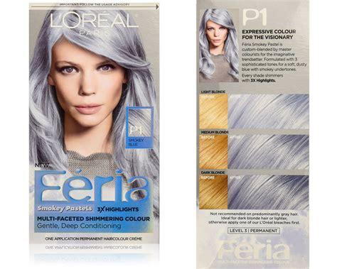 Loreal Feria l oreal feria smokey pastels tinte capelli colori pastello