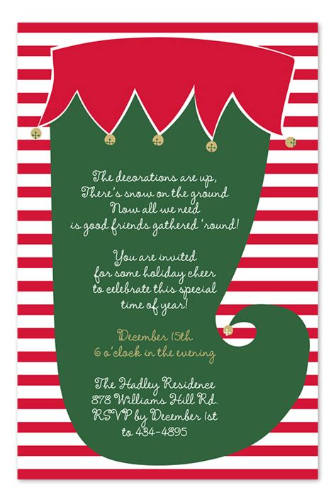 christmas potluck poem jingle invitations by invitation consultants icgp in 60