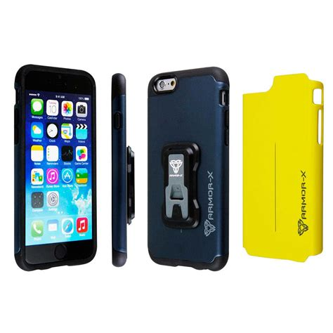 Armor 2 Iphone 6 S Casing Iphone 6 S armor x cases rugged for iphone 6 6s with x mount comprar y ofertas en goalinn