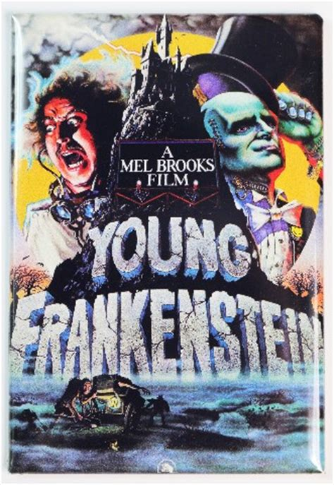 mel brooks young frankenstein fridge magnet comedy