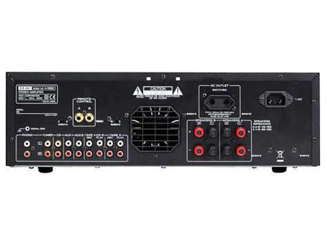 X Audio 2 by Teac A R650 Stereovahvistin Toimitus 0 Hifikulma