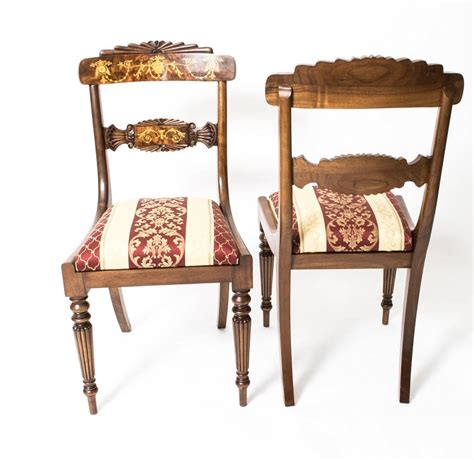 Antique Mahogany Dining Table And Chairs Antique Mahogany Ormolu Dining Table And Ten Chairs For Sale At 1stdibs