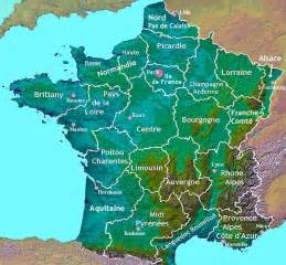 Map Of France Regions by Regional Map Of France About France Com