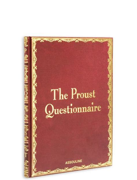 printable proust questionnaire the proust questionnaire by william c carter hardcover
