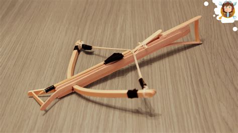 Busur Crossbow how to make a mini crossbow