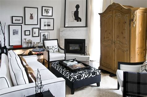 sophisticated living rooms sophisticated living room with eclectic art gallery in