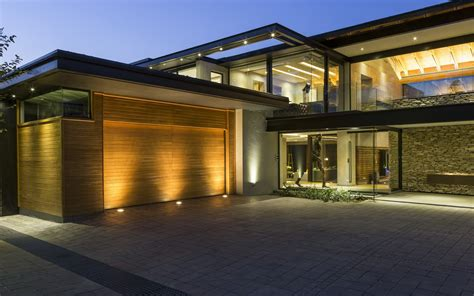 contemporary modern house contemporary house in blair athol south africa