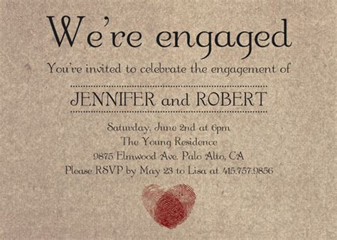 how to make engagement invitation cards engagement invitation affordable and unique
