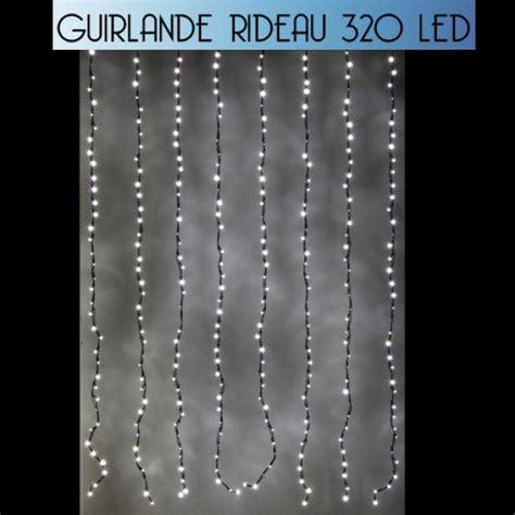 Guirlande Rideau Lumineux by Rideau Lumineux De Noel 320 Led Effet Goutte D Eau