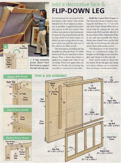 murphy bed desk plans woodworking plans murphy bed with creative creativity
