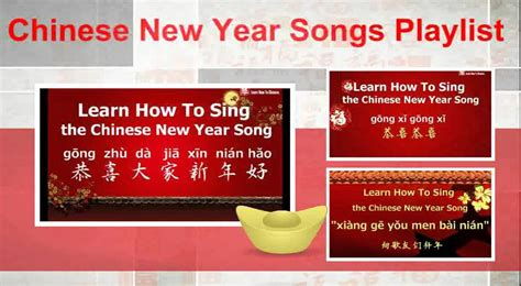 new year song in mandarin new year songs playlist learn mandarin songs