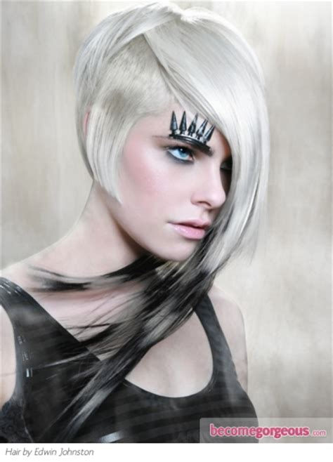 funky asymetrc bob hairsyles pictures punk girl hairstyles funky punk asymmetrical