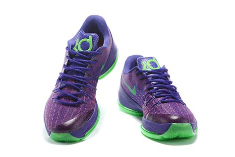 womens kd basketball shoes womens nike kevin durant kd 8 suit purple green basketball