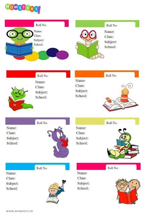 printable labels for school books 1000 images about printable labels on pinterest
