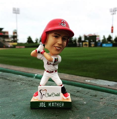 St Louis Cardinals Bobblehead Giveaways - joe mather mini bobblehead springfield cardinals st louis cardinals stadium
