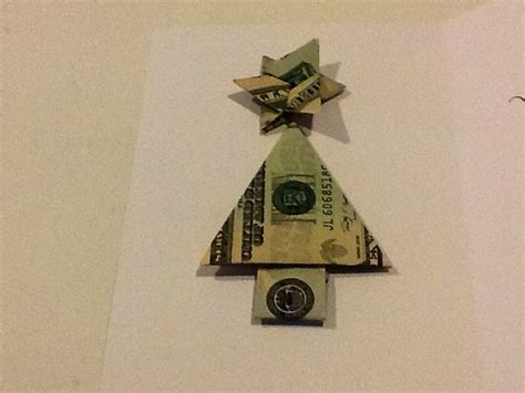 Tree Dollar Bill Origami - money origami http www gifts made easy