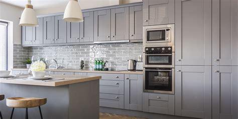 shaker ash  dusk grey gallagher kitchens