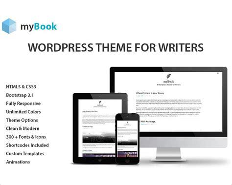 writer bootstrap themes free premium templates