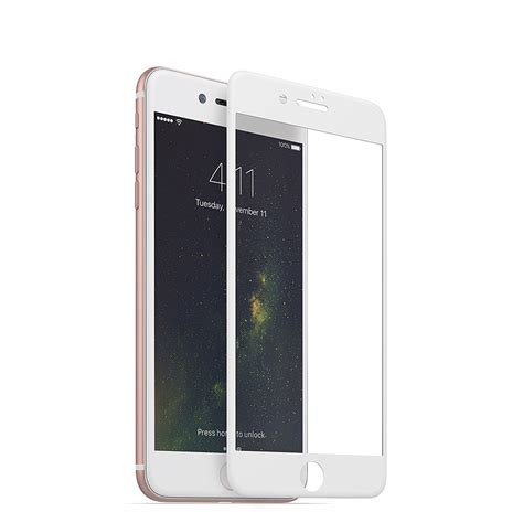 Glass Belakang Iphone 8 Plus iphone 8 plus 7 plus tempered glass 3d screen protection screen white