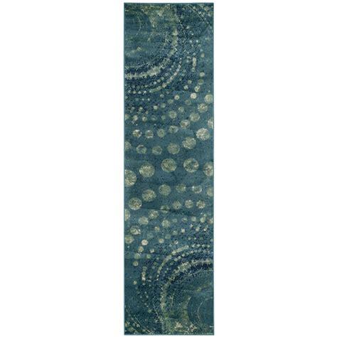 safavieh vintage turquoise multi 8 safavieh constellation vintage turquoise multi 2 ft 2 in x 8 ft runner cnv749 2224 28 the
