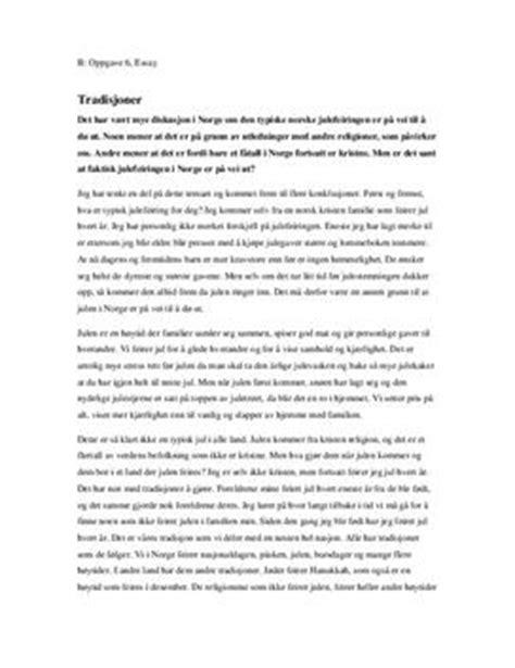 Skriv Et Godt Engelsk Essay by Eksempel Godt Essay