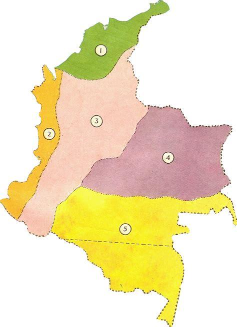 imagenes regiones naturales de colombia solo lo que se conoce se quiere las regiones naturales de