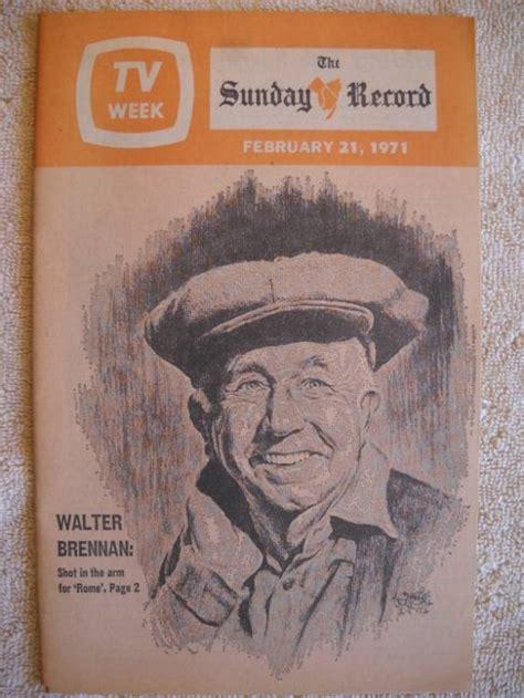 Bergen County Nj Records Bergen County Nj Sunday Record Tv Record Feb 21 1971 Sitcoms Photo Galleries