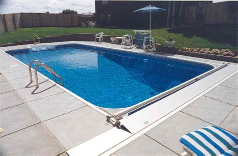 in ground lap pools great inground swimming pools with large green lawn