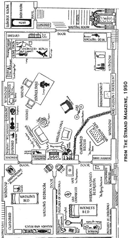 221b baker street floor plan sherlock holmes illustrated the flat at 221 b baker street high functioning sociopath