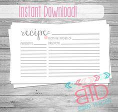 editable recipe card template free 3x5 free printable recipe cards scrapbook free printable