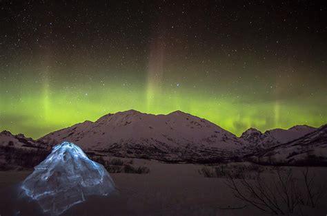 alaska northern lights igloo igloo and alaska northern lights photograph by sam amato
