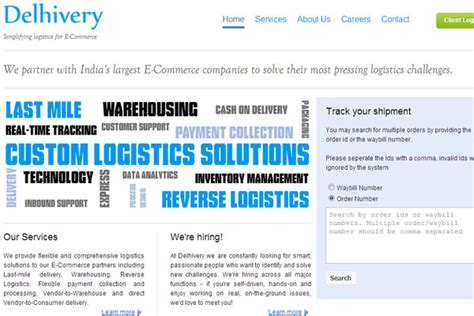 Logistics startup Delhivery claims to cross 2M shipments ...