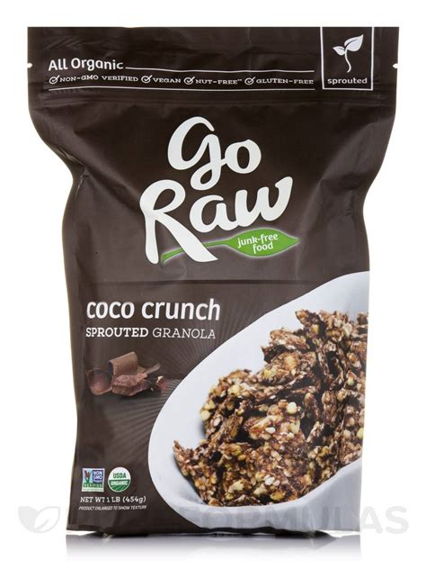 coco crunch coco crunch sprouted granola 1 lb 454 grams