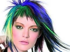 best non permanent hair color how to dye your hair a funky and color brown hairs