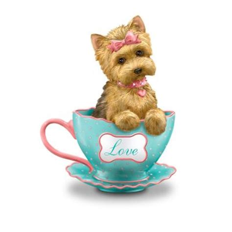 yorkie gifts terrier figurines yorkie sculptures miniatures